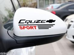 Cruze Sport на зеркала